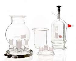 Aparelhos e vidrarias de laboratório